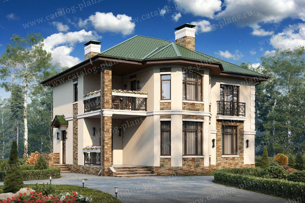 Фото двух этажных домов
